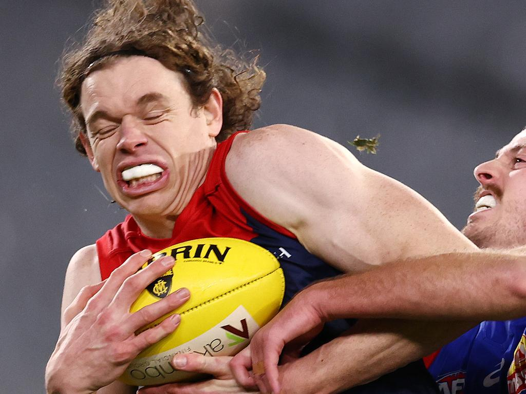 Big Ben Brown could be a key for the Demons. Picture: Michael Klein