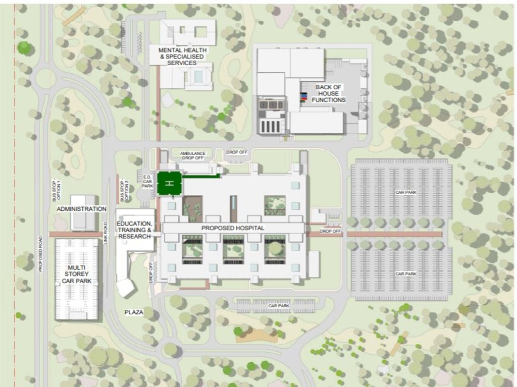 Concept designs for a proposed new hospital in Bundaberg will be showcased for the next two weeks online and through public information displays and pop-up sessions.