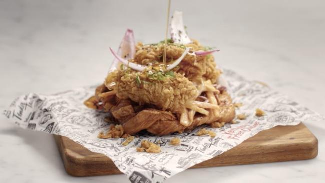KFC releases Chicken 'n Croffles