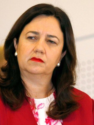 Premier Annastacia Palaszczuk says it is time for the federal and Queensland government to collaborate in easing the pressure on the state's strained hospital system. Picture: NCA NewsWire/Tertius Pickard