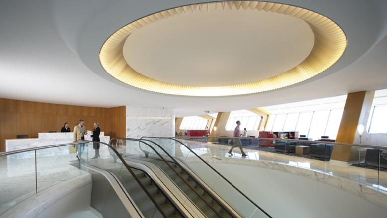 The Qantas first class lounge is for its top-tier customers.
