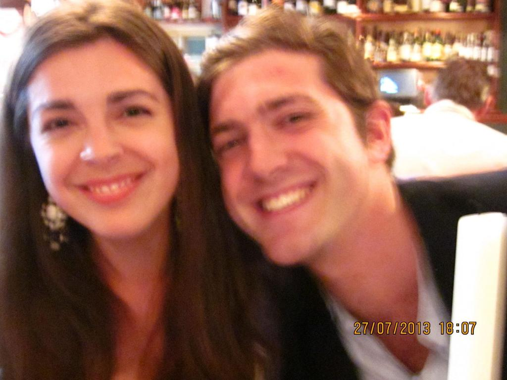 Hinge matched the pair due to their London location and their profiles' interests and preferences. Picture: Kennedy News