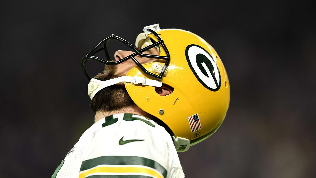 Aaron Rodgers reportedly rejected a contract extension that would have made him the highest paid player in the NFL. Hannah Foslien/Getty Images/AFP