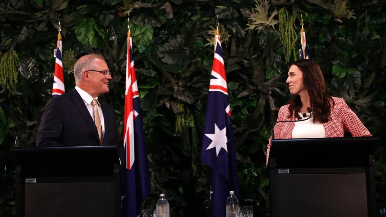 Morrison told to 'shove a sock down the throat' of Ardern