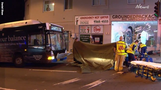 Woman dies three days after being hit by Bondi bus