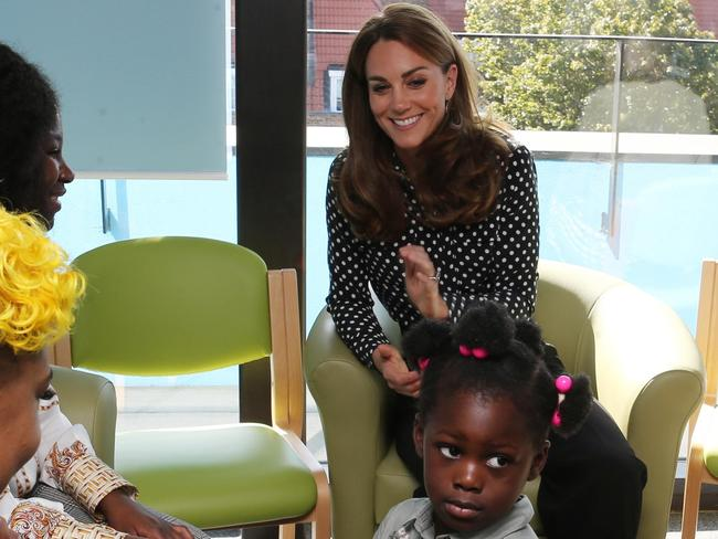 Kate's outfit spot on at kid's charity