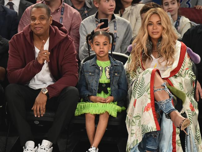 Beyonce, Jay Z, Blue Ivy and the new twins will stay in the temporary Beyhive until August, according to reports. Picture: Getty Images
