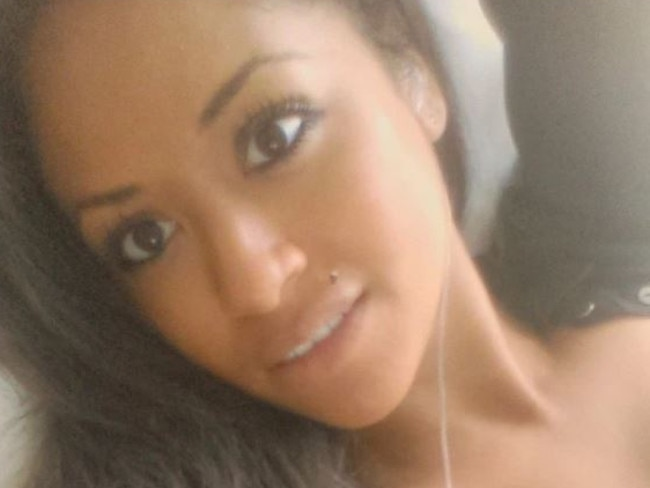 Reality TV star Valerie Fairman from 16 and Pregnant. Picture: Twitter