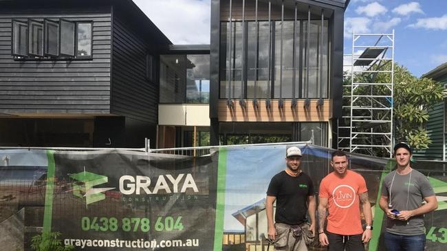 Darius Boyd's new home in Hendra was built by Graya Construction.