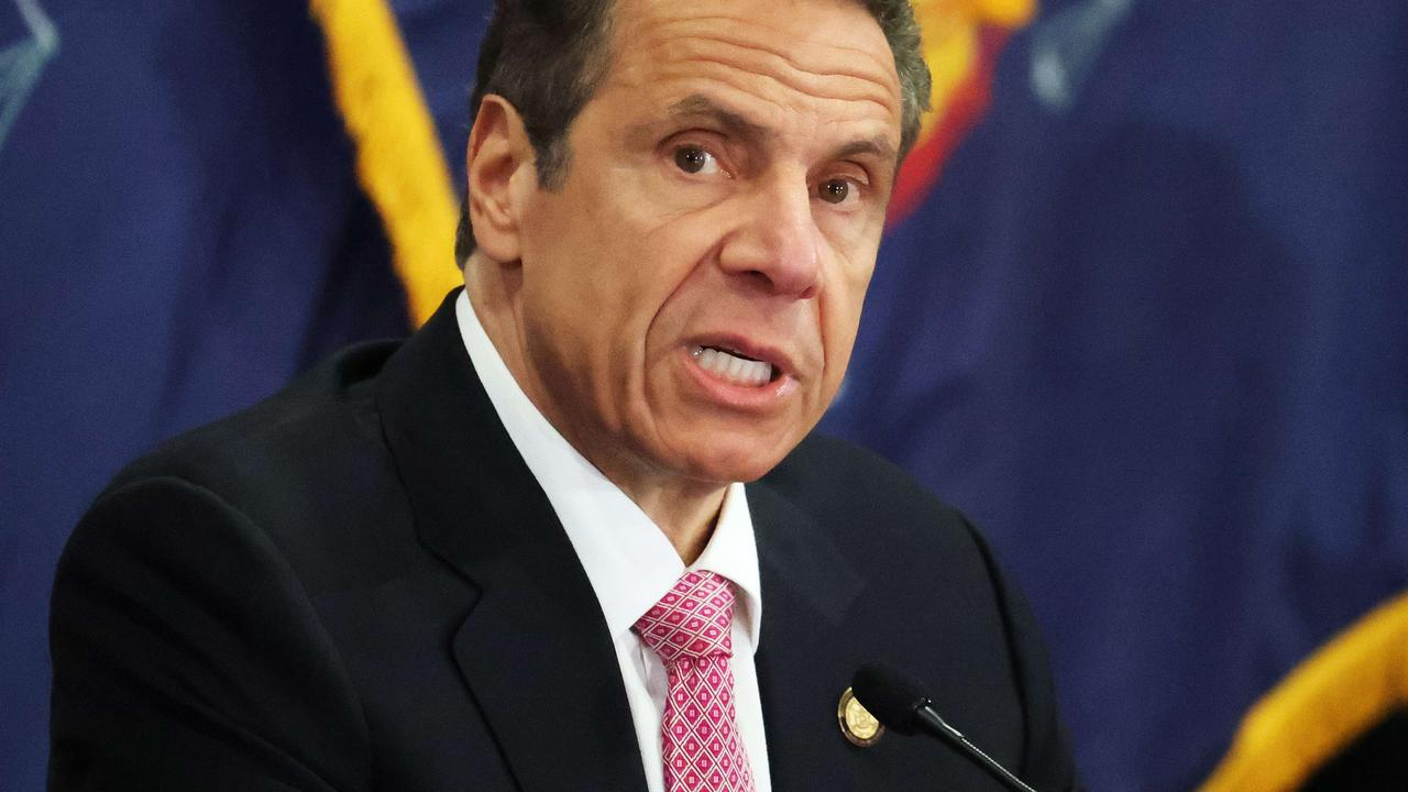 New York Governor Andrew Cuomo. Picture: Al Bello/Getty Images/AFP
