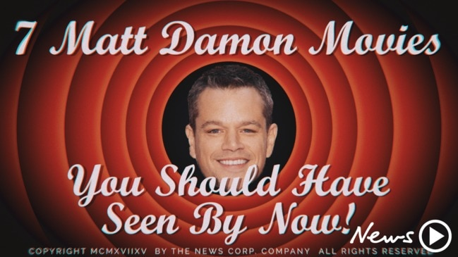 Matt Damon must-see movies: the ultimate list