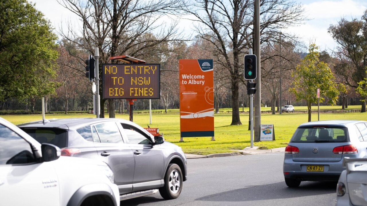 NSW and Victoria border shut for second time during the pandemic