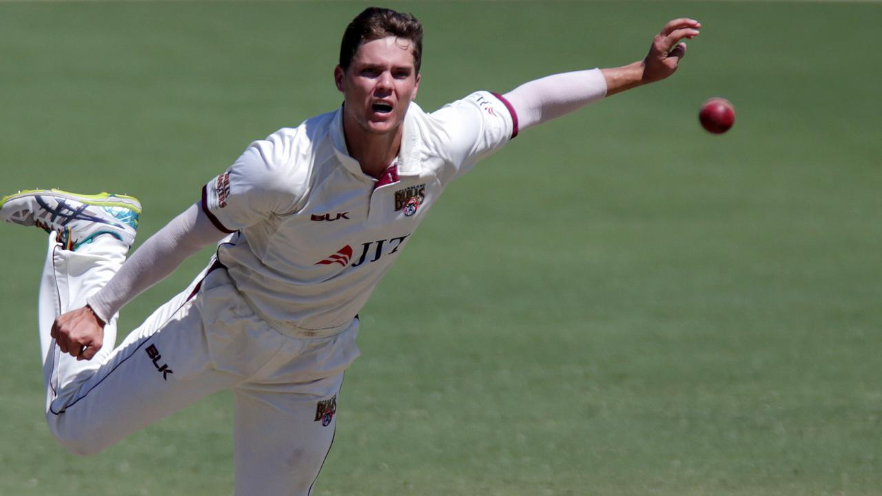 Mitchell Swepson is on the verge of a Test debut for Australia. Picture: AAP