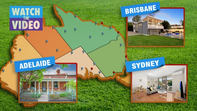 What $1M buys you in Australia's biggest cities