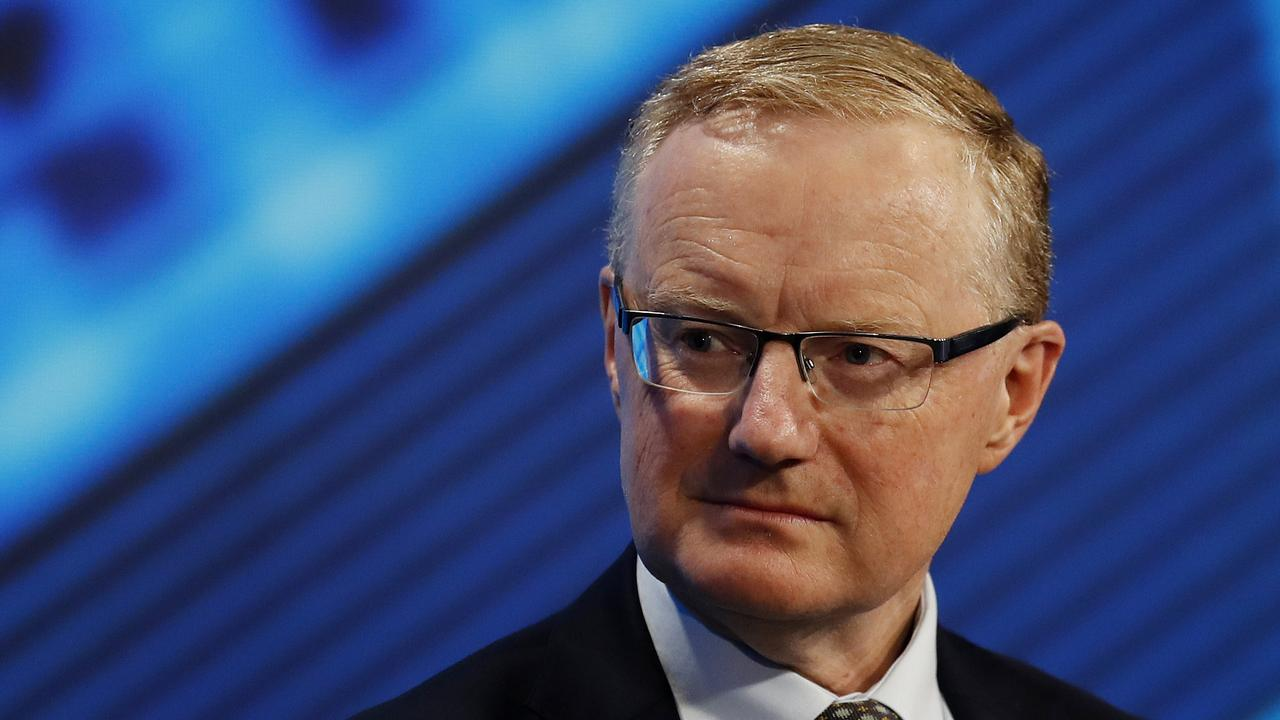 Reserve Bank governor Philip Lowe says unemployment is expected to peak just below 8 per cent. Picture: Nikki Short
