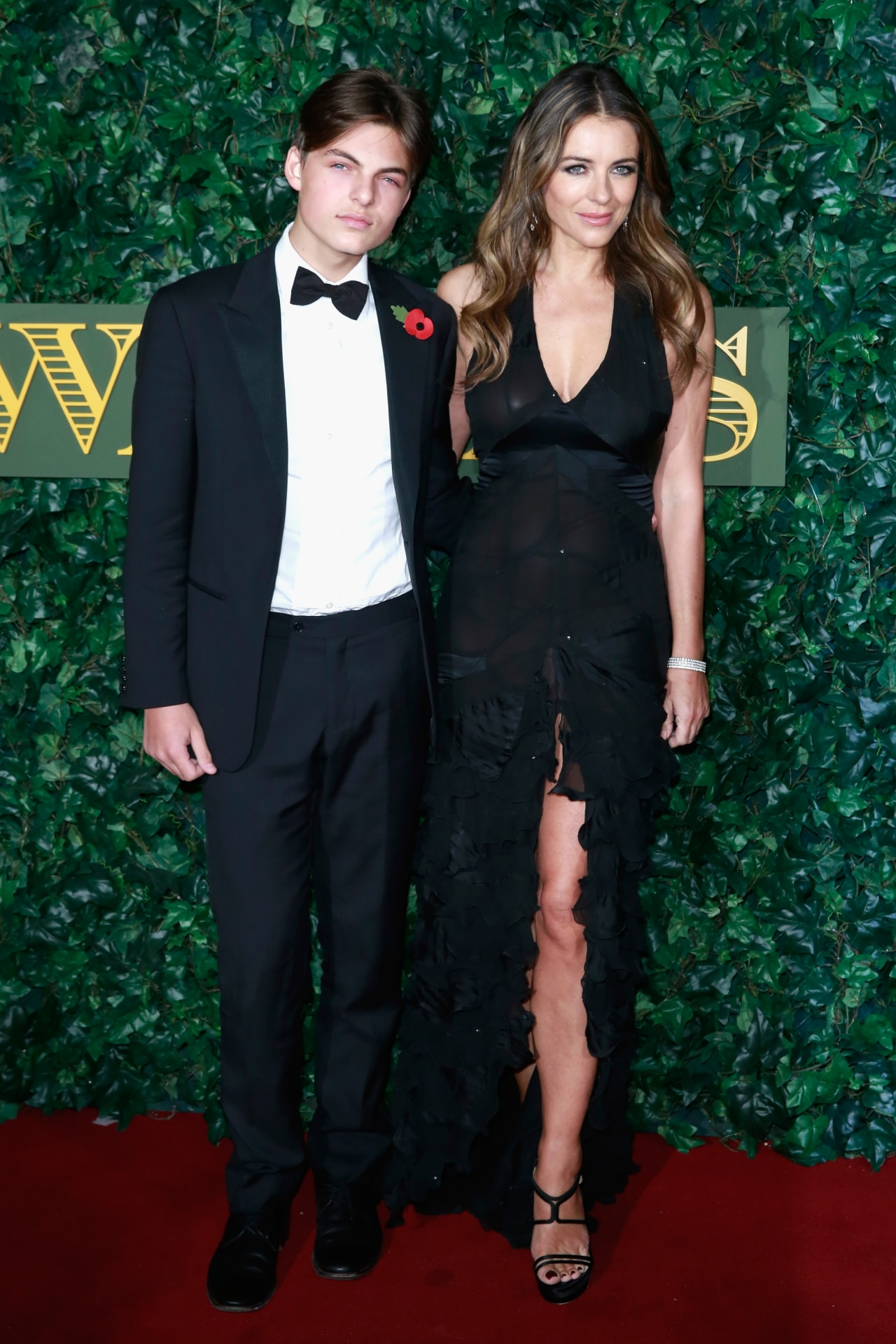 Elizabeth Hurley's model son Damian just paid tribute to that iconic Versace dress