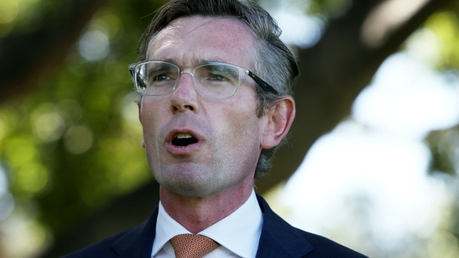 Dominic Perrottet has defended making changes to the NSW roadmap out of lockdown. Picture: Getty Images