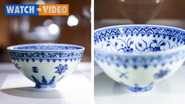 Rare chinese bowl found at garage sale fetches $925,000 at auction