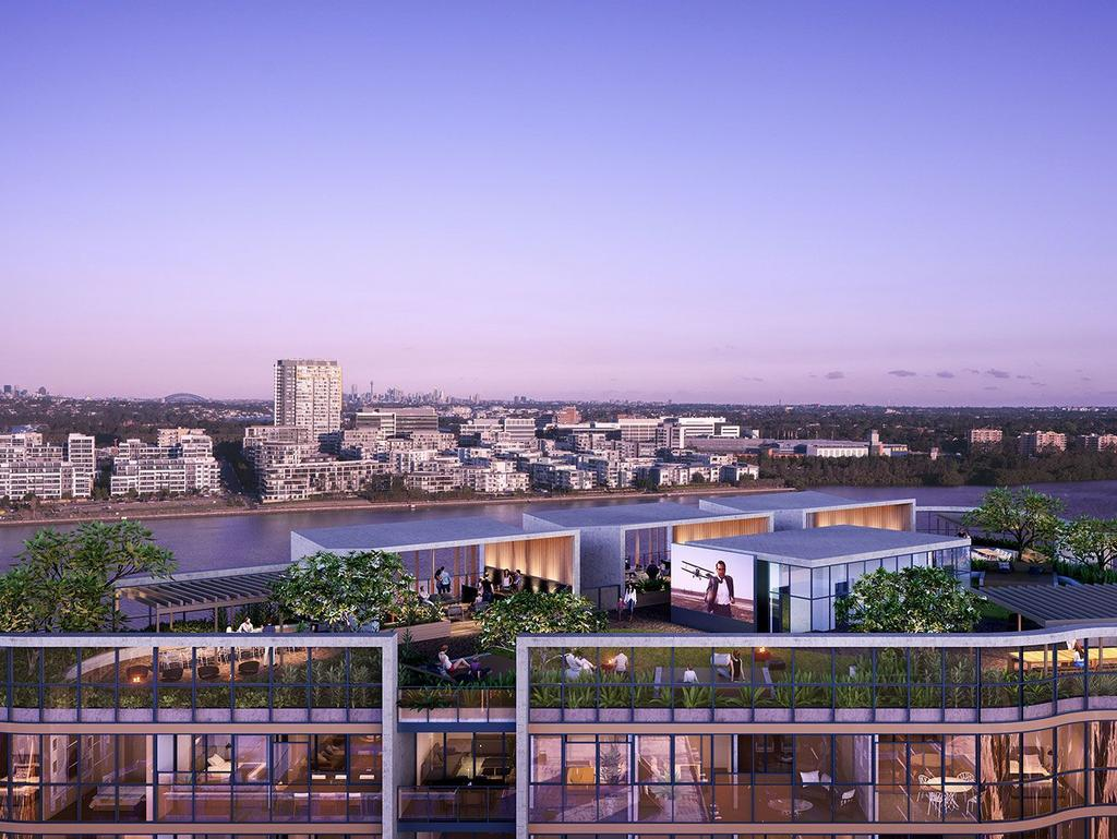 More high-rise is expected, similar to Harbour Village at Wentworth Point.