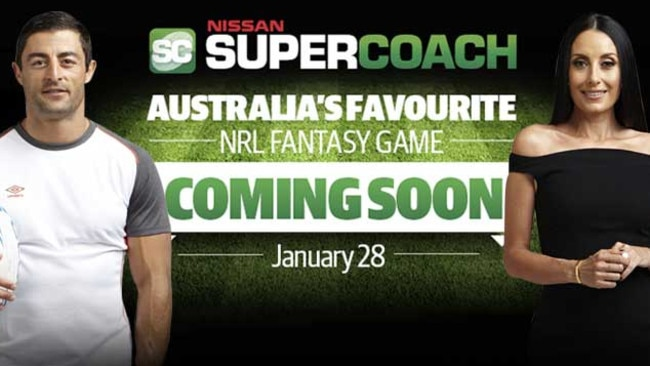 NRL SuperCoach launches January 28.