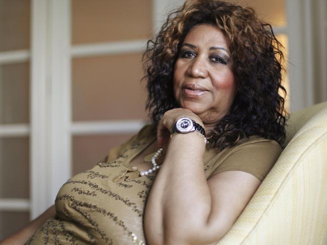 Soul singer Aretha Franklin. Picture: AP