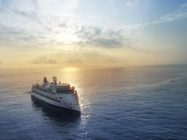 Aurora Expeditions' much-anticipated Greg Mortimer is set to be the world's most advanced luxury expedition cruise ship when it launches later this year. Picture: Aurora Expeditions