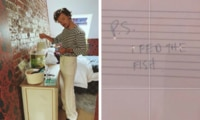 Harry Styles leaves brilliant note for fan