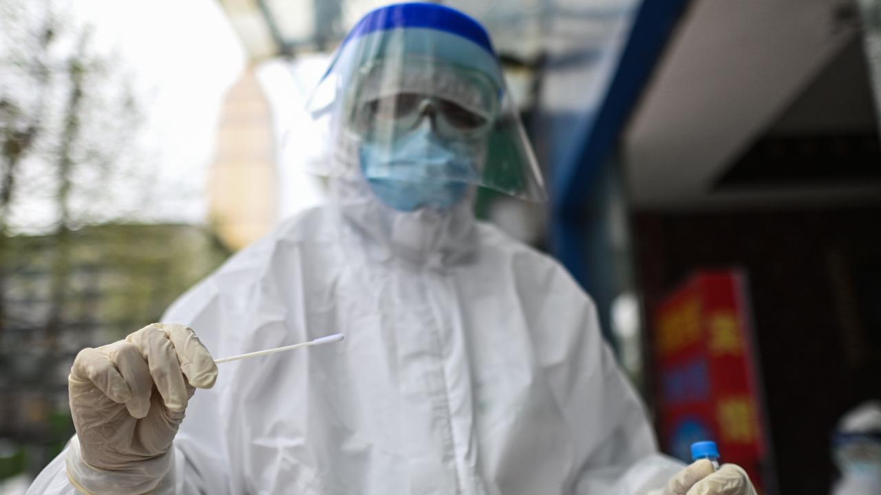 The coronavirus pandemic is widely understood to have begun in Wuhan. Picture: Hector Retamal/AFP