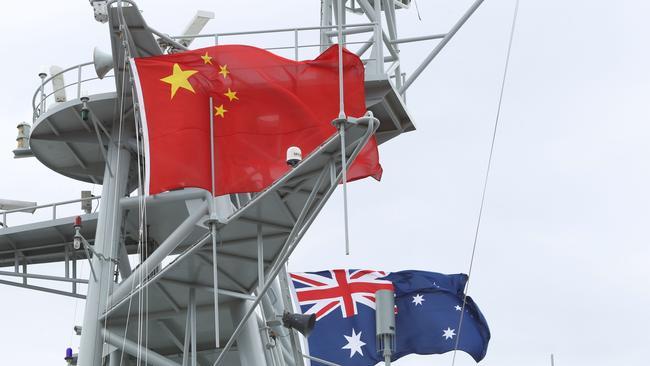 China is Australia's largest trading partner.