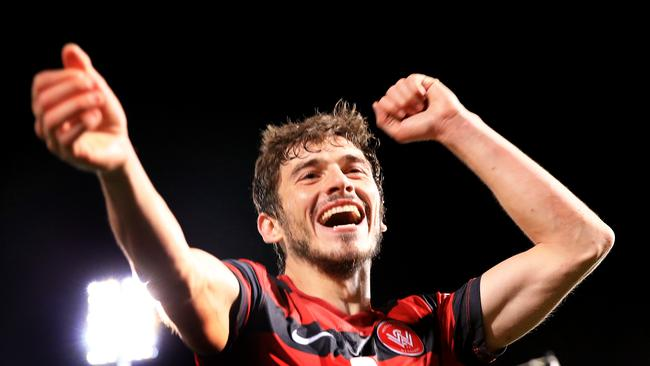 Mateo Poljak says Wanderers players are relieved after resolving the pay dispute.