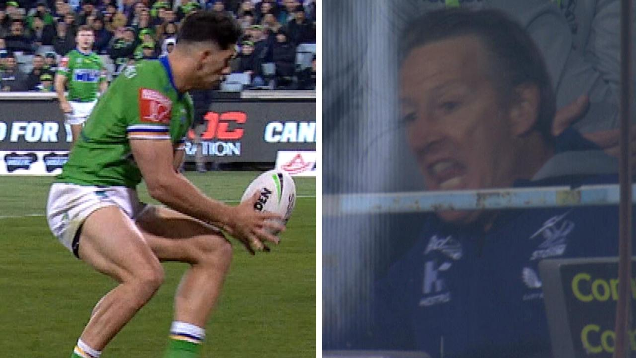 Bailey Simonsson was part of a comedy of errors that had Craig Bellamy blowing up in the box.