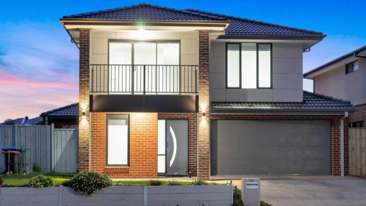 No. 34 Leafy Rd, Werribee, sold last month for $692,500.
