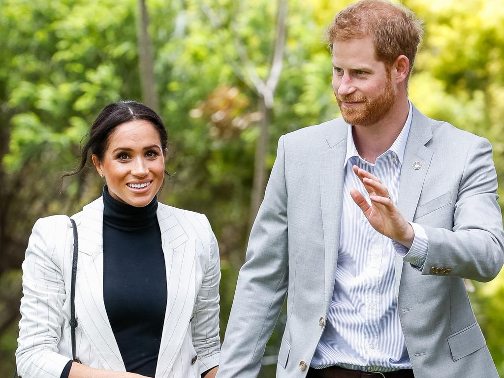 The couple during their visit to Sydney in October 2018. Meghan's just announced pregnancy ensured a run of good press for the duration of the trip. Picture: Chris Jackson/Getty Images for the Invictus Games Foundation