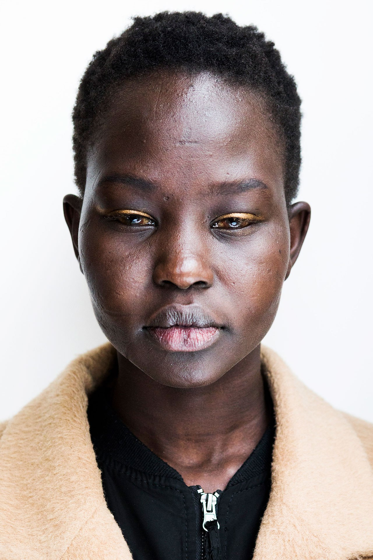 Fenty model Aweng Chuol on #BlueForSudan and the crisis in her home country