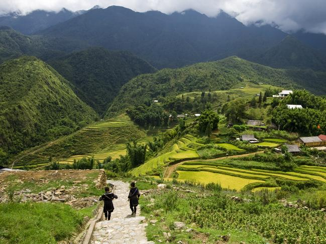 20. HOMESTAY IN RURAL VIETNAM Tucked into the bright green rolling hills of northern Vietnam, the village of Sapa is home to the country's traditional mountain tribes. Here you can experience rural life and even stay as a guest in local homes, surrounded by terraced rice paddies, farms, and forests.
