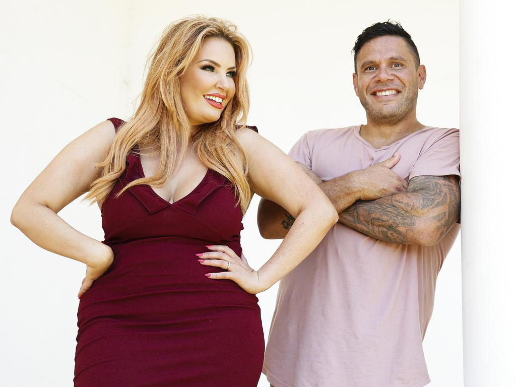 Telv Williams was paired with Sarah Roza on last year's season of MAFS. Picture: Justin Lloyd