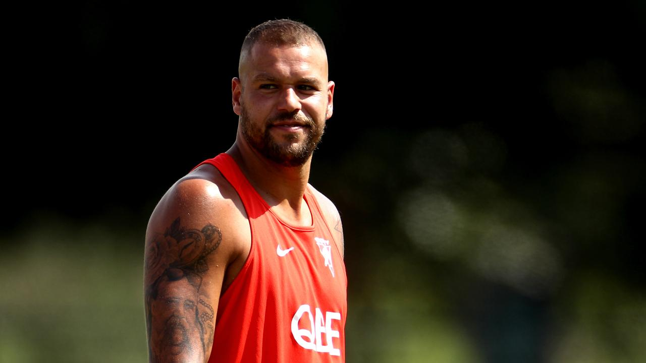 Sydney star Lance Franklin is a father again (Photo by Brendon Thorne/Getty Images)