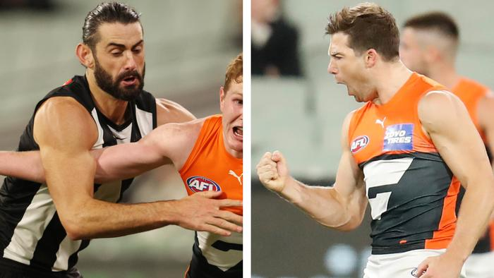 The 3-2-1 from the Giants v Collingwood game.