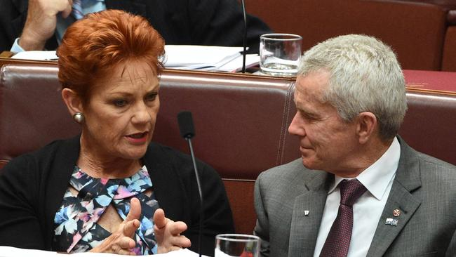 One Nation Senator Malcolm Roberts petitioned Australian diplomats for tickets to Donald Trump's inauguration. Picture: Mick Tsikas