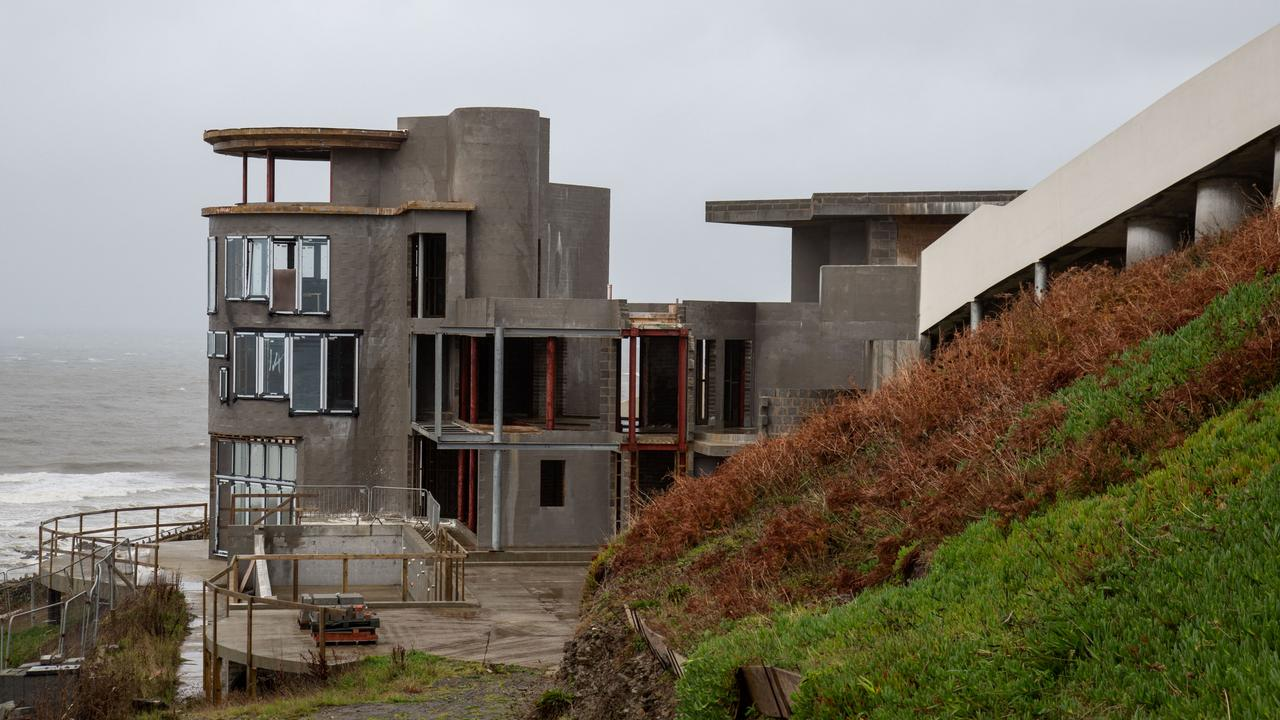 Grand Designs viewers dubbed The Lighthouse the 'saddest project ever'. Picture: Channel 4