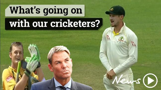 Aussie cricketers behaving badly