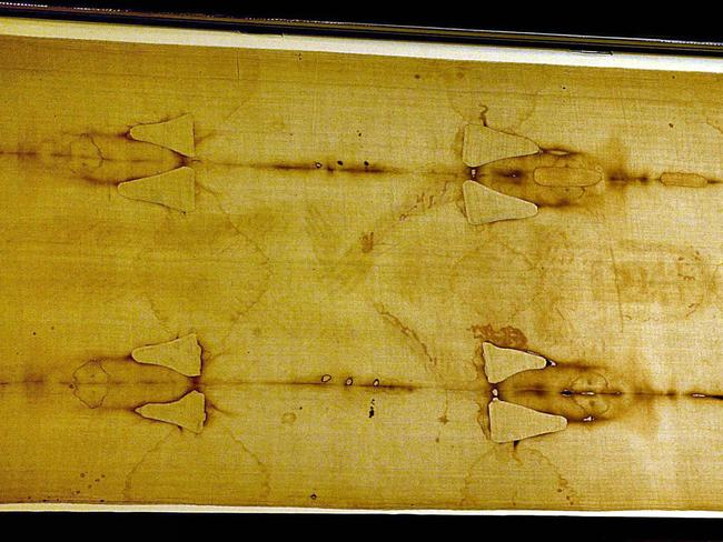 New forensic testing suggests that the Shroud of Turin was man-made during the 14th century. Picture; AP Photo/Antonio Calanni