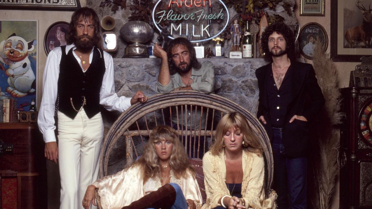 Fleetwood Mac pictured in 1977, the year they released Dreams. Picture: Sam Emerson