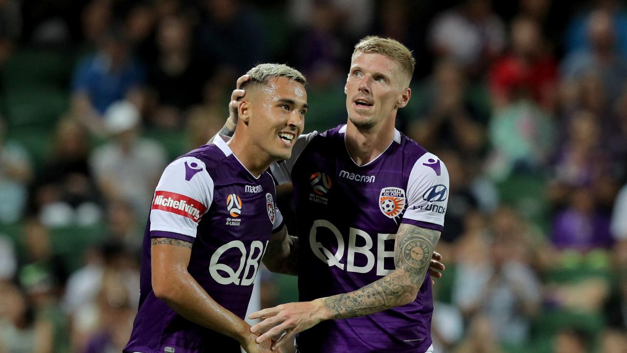 Perth Glory have re-signed Jason Davidson