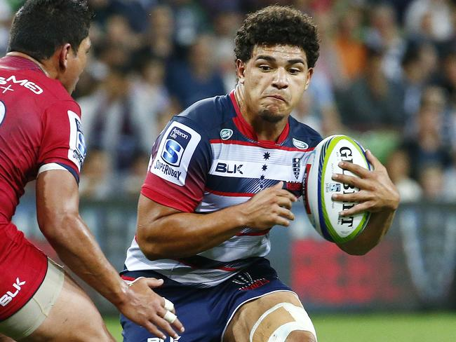 Sione Tuipulotu is a local Rebels product Picture: Colleen Petch.