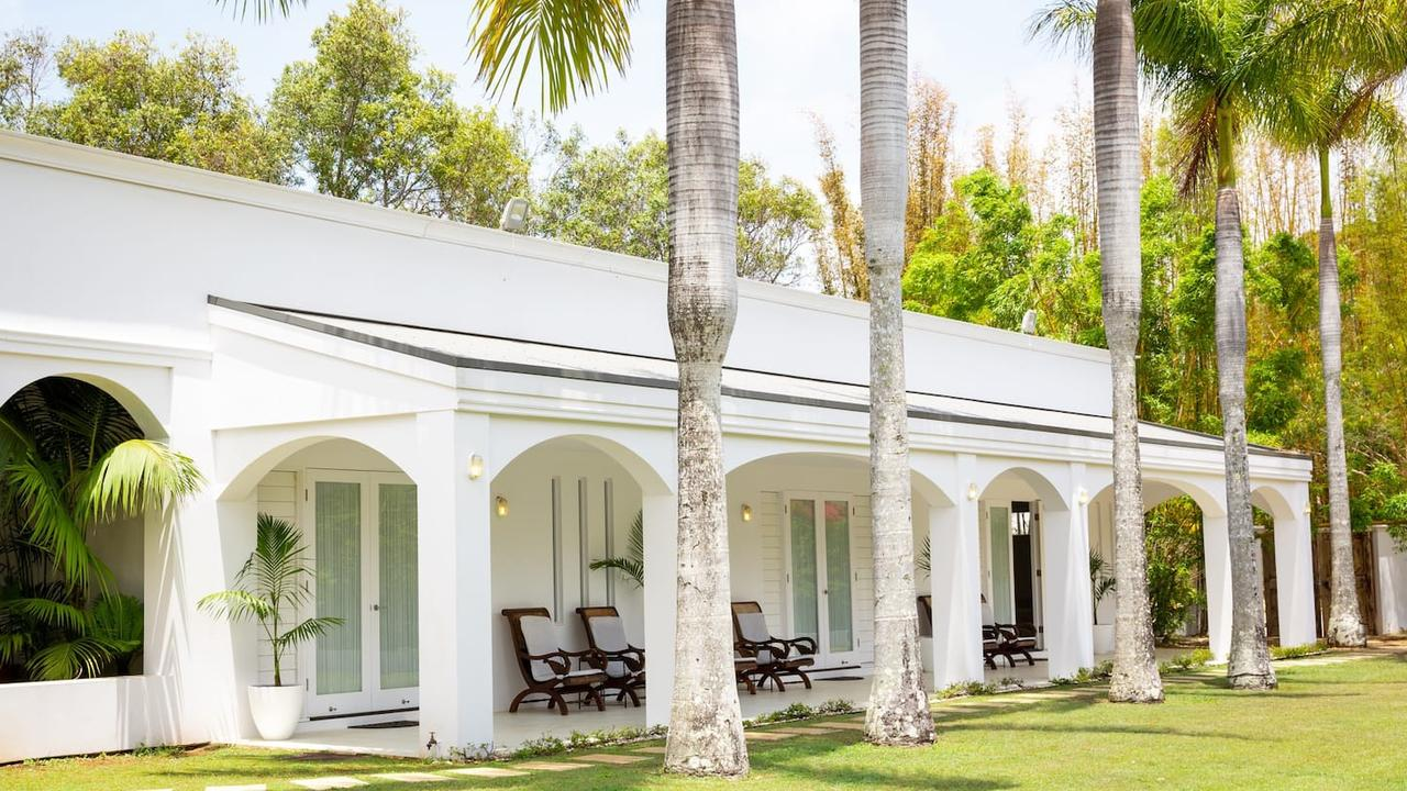 People who want to use Airbnb to make a booking – for example at The Palace on Magnolia guesthouse at Byron Bay – will not be able to have any parties.