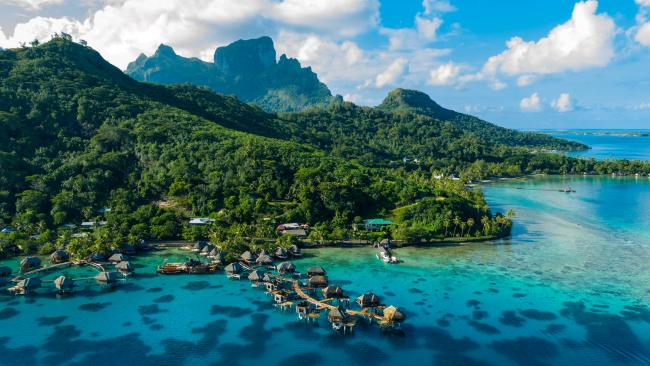 Best Tahiti island? Bora Bora A dreamy vision in the middle of the tropical Pacific, Bora Bora is your archetypal Honeymoon paradise.