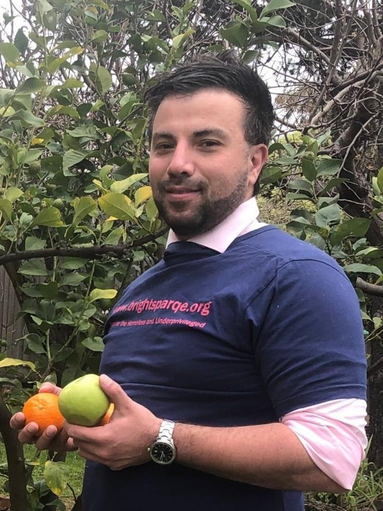 Charbel Yamouni, founder of charity Bright Sparqe. He developed the Share and Share Alike platform to match food donations from hotels and restaurants, to charities.