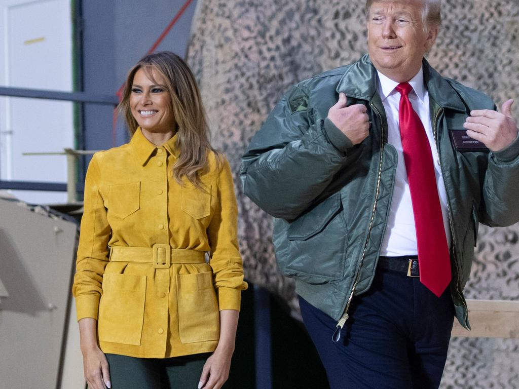 Contrary to reports, Sims claims, Melania Trump was 'in it all the way' with her husband. Picture: Saul Loeb/AFP