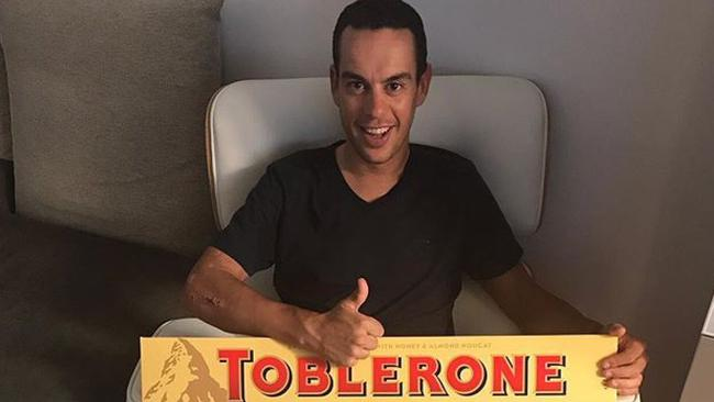 Richie Porte with the job ahead of him.